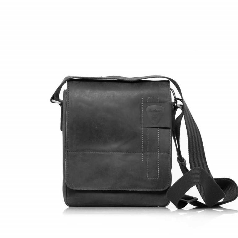 Umhängetasche Richmond Messenger S Black, Farbe: schwarz, Marke: Strellson, EAN: 4053533065134, Abmessungen in cm: 20.0x23.0x6.0, Bild 1 von 5