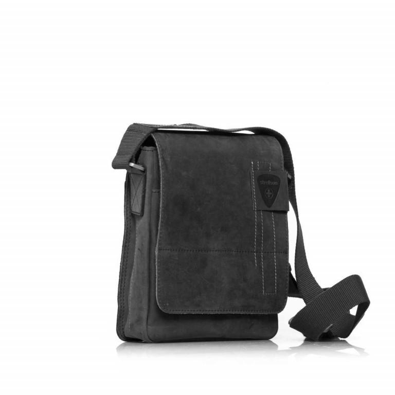 Umhängetasche Richmond Messenger S Black, Farbe: schwarz, Marke: Strellson, EAN: 4053533065134, Abmessungen in cm: 20.0x23.0x6.0, Bild 2 von 5