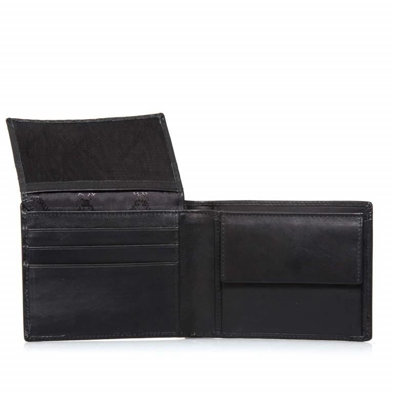 Geldbörse Derry 57648 Black, Farbe: schwarz, Marke: Samsonite, EAN: 5414847431364, Abmessungen in cm: 12.0x10.0x2.5, Bild 4 von 5