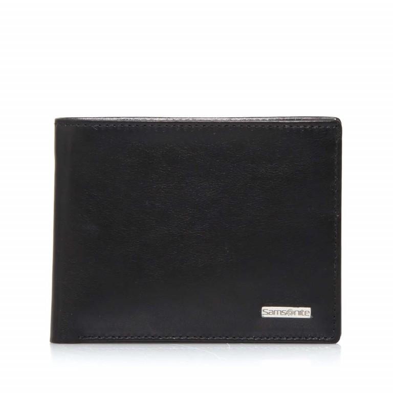 Geldbörse Derry 57648 Black, Farbe: schwarz, Marke: Samsonite, EAN: 5414847431364, Abmessungen in cm: 12.0x10.0x2.5, Bild 1 von 5