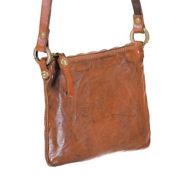 Umhängetasche Leder 20cm Cognac, Farbe: cognac, Marke: Campomaggi, EAN: 8054302007702, Abmessungen in cm: 20.0x15.0x1.0, Bild 2 von 5