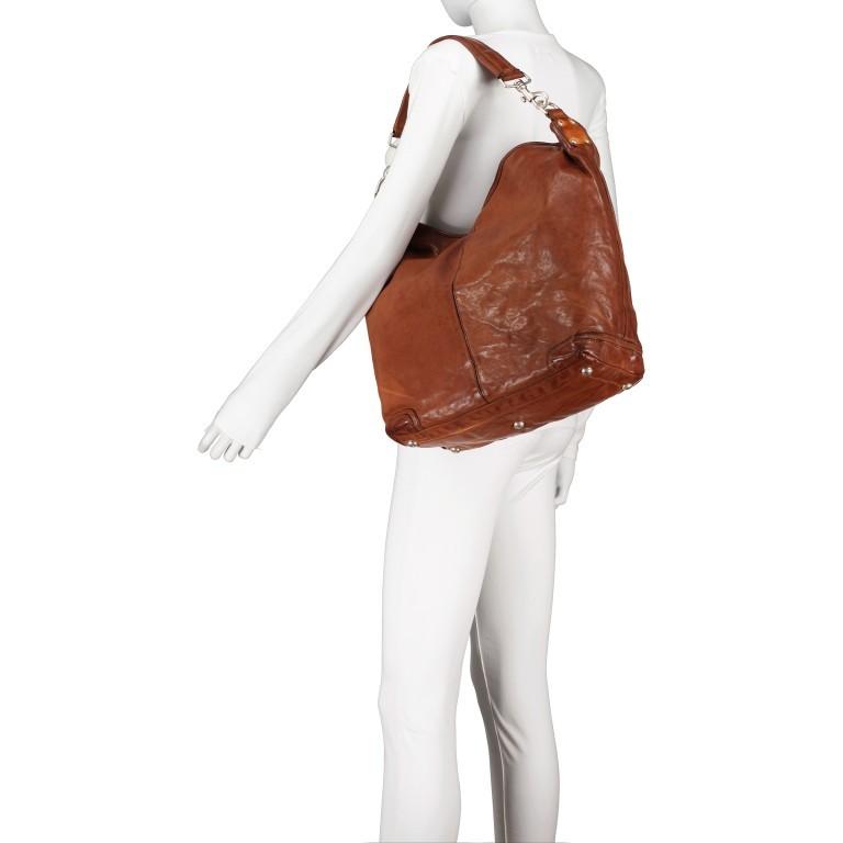 Beuteltasche 0130-X0001 Leder 48cm Cognac, Farbe: cognac, Marke: Campomaggi, EAN: 8054302068956, Bild 5 von 8