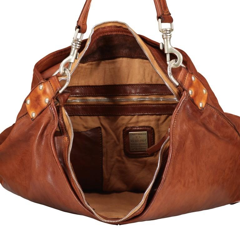 Beuteltasche 0130-X0001 Leder 48cm Cognac, Farbe: cognac, Marke: Campomaggi, EAN: 8054302068956, Bild 8 von 8