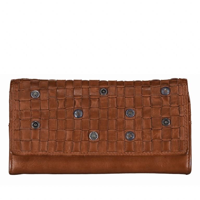 Geldbörse Soft-Weaving Adriane B3.9857 Charming Cognac, Farbe: cognac, Marke: Harbour 2nd, EAN: 4046478019188, Abmessungen in cm: 18.0x10.0x3.5, Bild 1 von 4