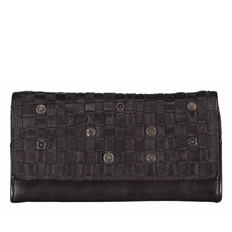 Geldbörse Soft-Weaving Adriane B3.9857 Dark Ash, Farbe: anthrazit, Marke: Harbour 2nd, EAN: 4046478021204, Abmessungen in cm: 18.0x10.0x3.5, Bild 1 von 4