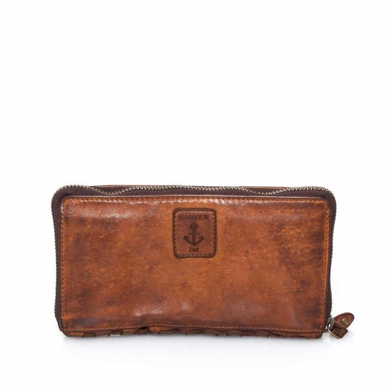Geldbörse Soft-Weaving Penelope B3.9859 Charming Cognac, Farbe: cognac, Marke: Harbour 2nd, EAN: 4046478019232, Abmessungen in cm: 18.5x10.0x2.5, Bild 3 von 3