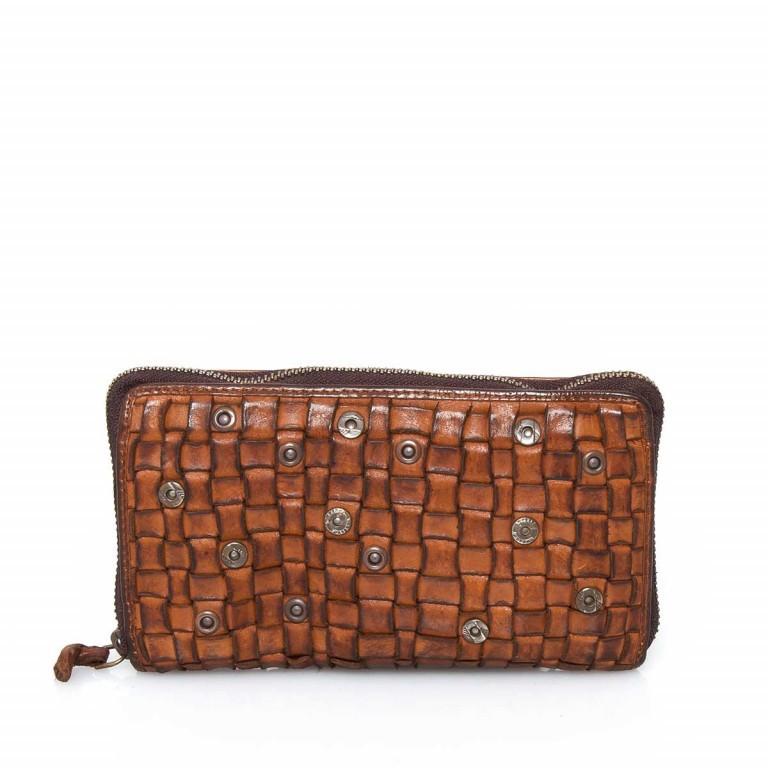 Geldbörse Soft-Weaving Penelope B3.9859 Charming Cognac, Farbe: cognac, Marke: Harbour 2nd, EAN: 4046478019232, Abmessungen in cm: 18.5x10.0x2.5, Bild 1 von 3