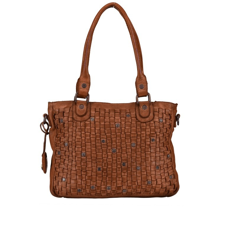 Shopper Soft-Weaving Ysabel B3.4722 Charming Cognac, Farbe: cognac, Marke: Harbour 2nd, EAN: 4046478020504, Abmessungen in cm: 32.0x25.0x5.0, Bild 1 von 8