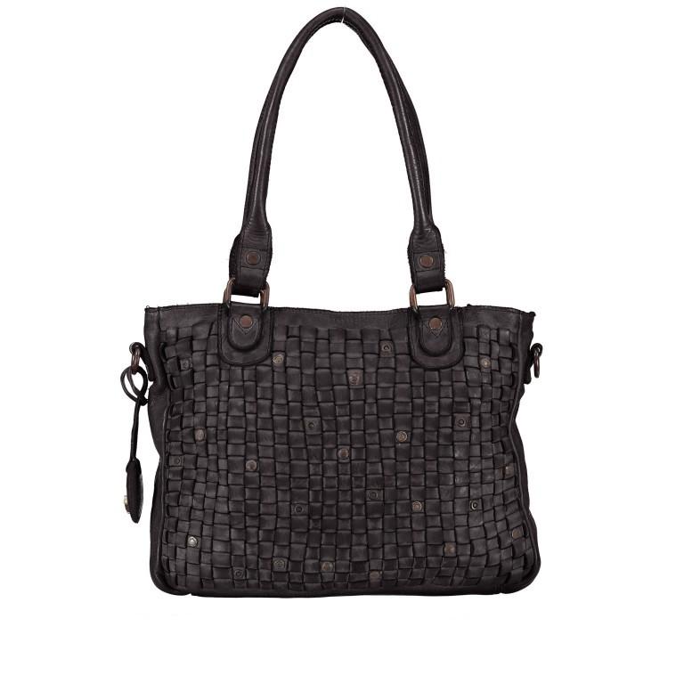 Shopper Soft-Weaving Ysabel B3.4722 Dark Ash, Farbe: anthrazit, Marke: Harbour 2nd, EAN: 4046478020498, Abmessungen in cm: 32.0x25.0x5.0, Bild 1 von 8