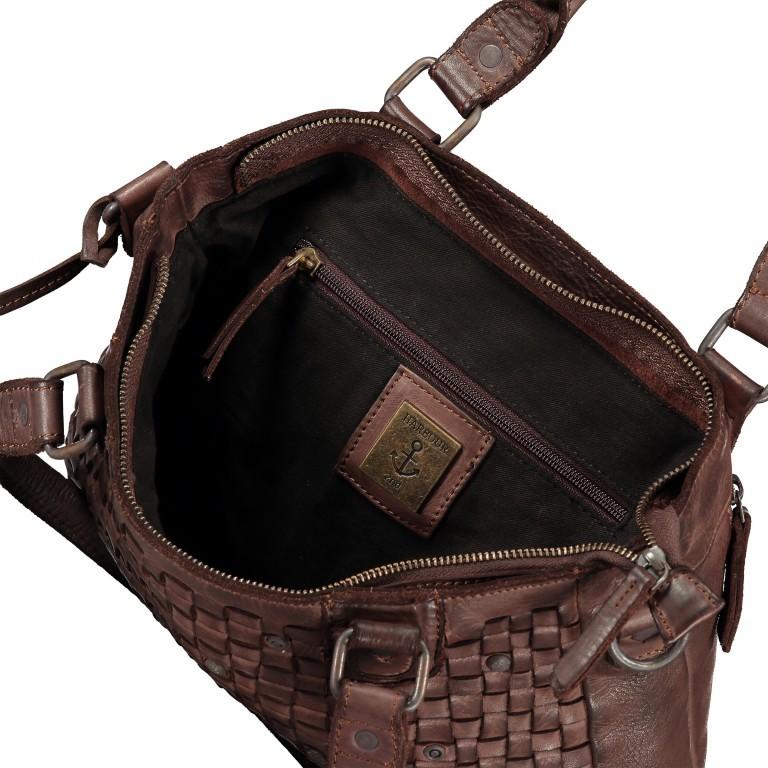 Shopper Soft-Weaving Ysabel B3.4722 Dark Ash, Farbe: anthrazit, Marke: Harbour 2nd, EAN: 4046478020498, Abmessungen in cm: 32.0x25.0x5.0, Bild 7 von 8