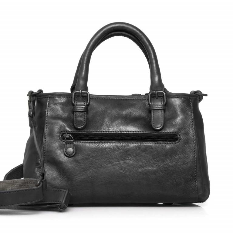 Handtasche Grandma's Luxury Club Mrs.Choco Sprinkle Black Smoke, Farbe: schwarz, Marke: Aunts & Uncles, EAN: 4250394923218, Abmessungen in cm: 30.0x21.0x12.0, Bild 5 von 5