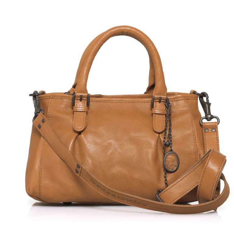 Handtasche Grandma's Luxury Club Mrs.Choco Sprinkle Caramel, Farbe: cognac, Marke: Aunts & Uncles, EAN: 4250394923225, Abmessungen in cm: 30.0x21.0x12.0, Bild 2 von 5