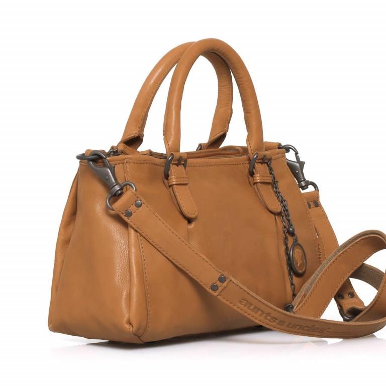 Handtasche Grandma's Luxury Club Mrs.Choco Sprinkle Caramel, Farbe: cognac, Marke: Aunts & Uncles, EAN: 4250394923225, Abmessungen in cm: 30.0x21.0x12.0, Bild 3 von 5
