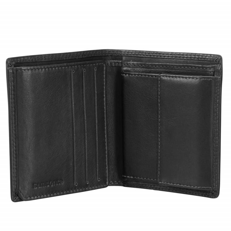 Geldbörse Attack 54793 Black, Farbe: schwarz, Marke: Samsonite, EAN: 5414847385292, Abmessungen in cm: 9.00x11.0x2.0, Bild 2 von 3