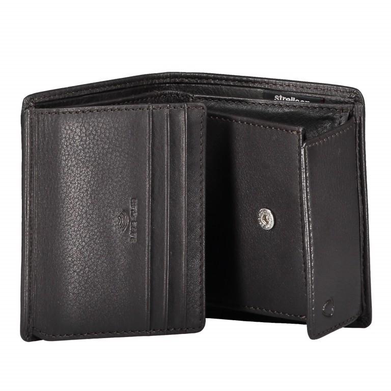 Geldbörse Harrison Billfold Q6 Dark Brown, Farbe: braun, Marke: Strellson, EAN: 4053533015573, Abmessungen in cm: 9.0x10.5x2.0, Bild 3 von 3