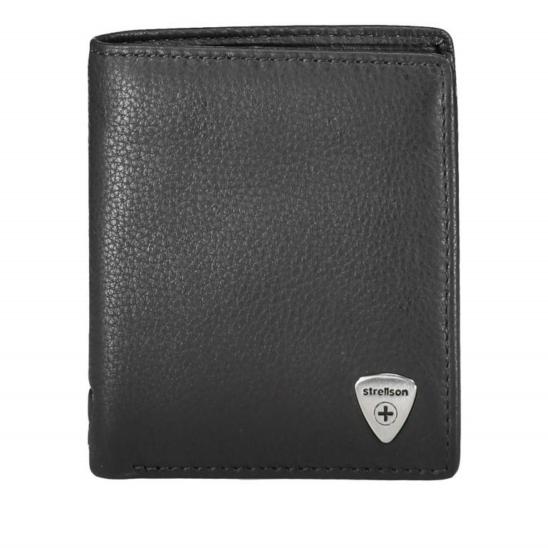 Geldbörse Harrison Billfold Q6 Black, Farbe: schwarz, Marke: Strellson, EAN: 4053533015580, Abmessungen in cm: 9.0x10.5x2.0, Bild 1 von 3