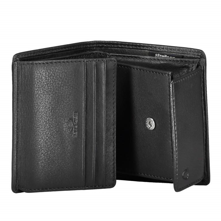 Geldbörse Harrison Billfold Q6 Black, Farbe: schwarz, Marke: Strellson, EAN: 4053533015580, Abmessungen in cm: 9.0x10.5x2.0, Bild 3 von 3