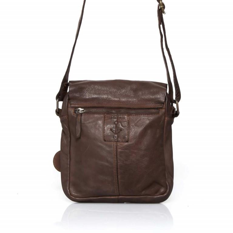 Umhängetasche Cool-Casual Urd B3.5105 Chocolate Brown, Farbe: braun, Marke: Harbour 2nd, EAN: 4046478021747, Abmessungen in cm: 20.5x24.0x5.0, Bild 5 von 6