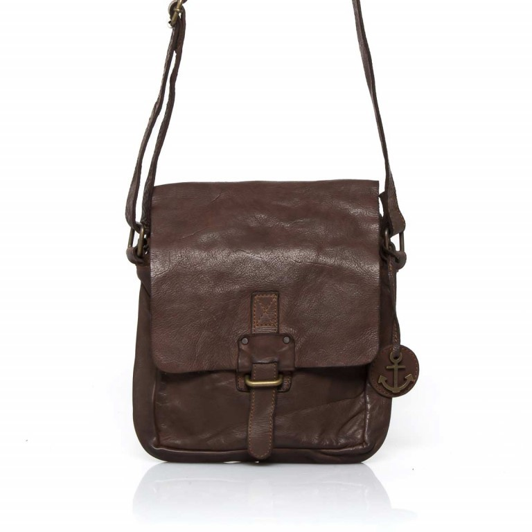 Umhängetasche Cool-Casual Urd B3.5105 Chocolate Brown, Farbe: braun, Marke: Harbour 2nd, EAN: 4046478021747, Abmessungen in cm: 20.5x24.0x5.0, Bild 1 von 6