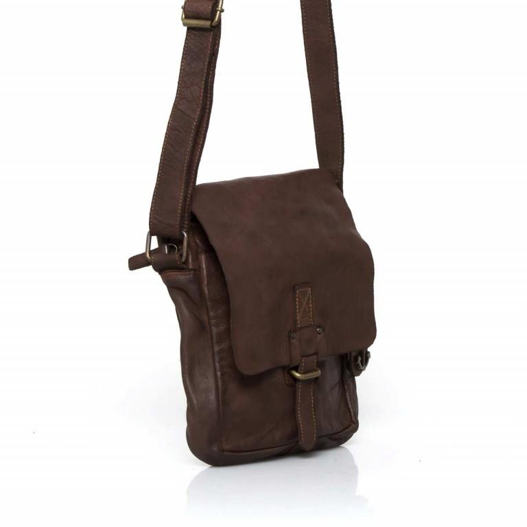 Umhängetasche Cool-Casual Urd B3.5105 Chocolate Brown, Farbe: braun, Marke: Harbour 2nd, EAN: 4046478021747, Abmessungen in cm: 20.5x24.0x5.0, Bild 3 von 6