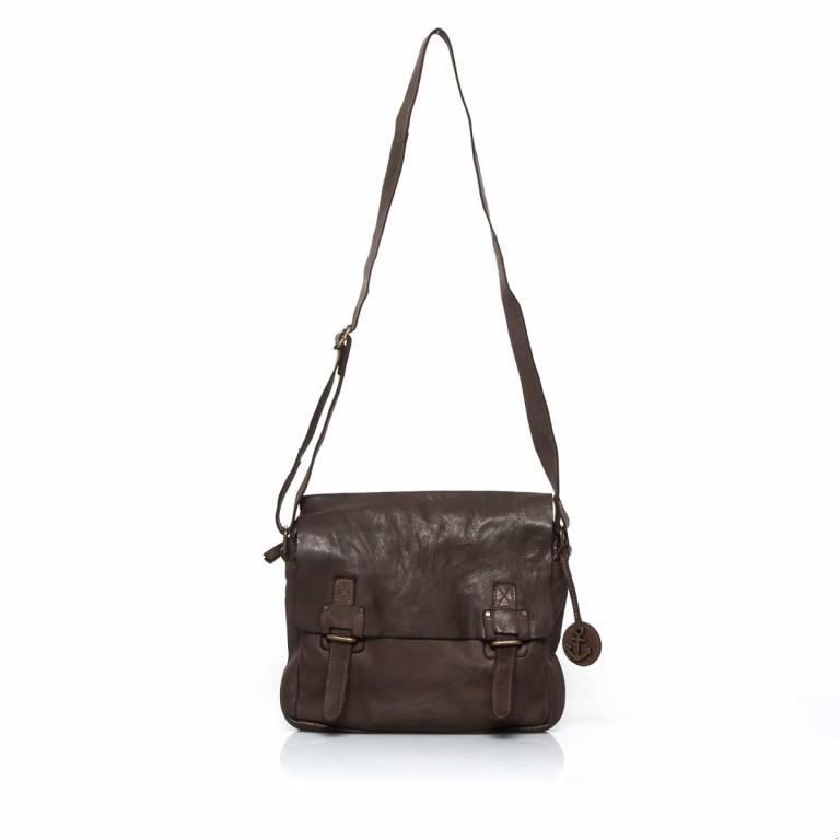 Umhängetasche Cool-Casual Funchal B3.5172 Chocolate Brown, Farbe: braun, Marke: Harbour 2nd, EAN: 4046478022072, Abmessungen in cm: 29.0x25.0x7.0, Bild 2 von 5