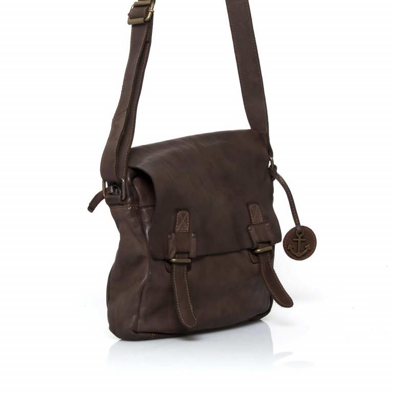 Umhängetasche Cool-Casual Funchal B3.5172 Chocolate Brown, Farbe: braun, Marke: Harbour 2nd, EAN: 4046478022072, Abmessungen in cm: 29.0x25.0x7.0, Bild 3 von 5