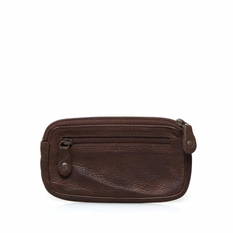 Schlüsseletui Cool-Casual Nico B3.0337 Chocolate Brown, Farbe: braun, Marke: Harbour 2nd, EAN: 4046478023321, Abmessungen in cm: 13.0x7.5x1.5, Bild 2 von 2
