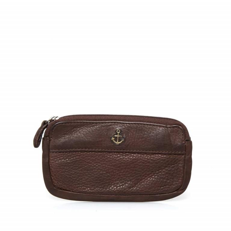 Schlüsseletui Cool-Casual Nico B3.0337 Chocolate Brown, Farbe: braun, Marke: Harbour 2nd, EAN: 4046478023321, Abmessungen in cm: 13.0x7.5x1.5, Bild 1 von 2