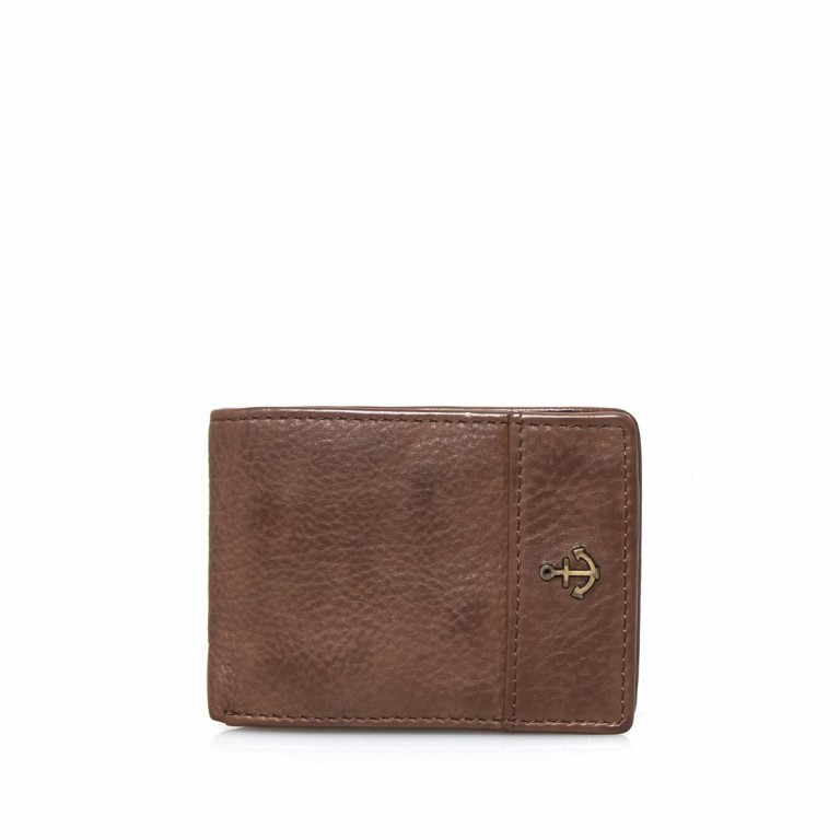 Geldbörse Cool-Casual Eems B3.0338, Farbe: anthrazit, braun, cognac, Marke: Harbour 2nd, Bild 1 von 1