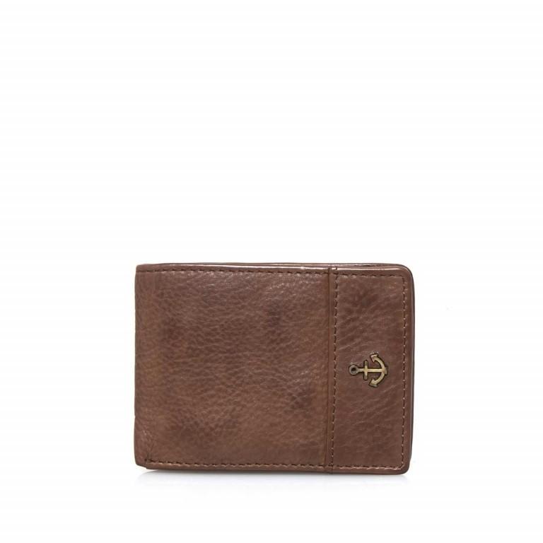 Geldbörse Cool-Casual Eems B3.0338 Chocolate Brown, Farbe: braun, Marke: Harbour 2nd, EAN: 4046478023352, Abmessungen in cm: 10.5x8.0x2.0, Bild 1 von 4