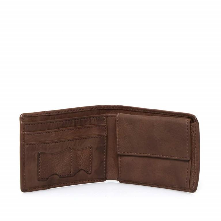 Geldbörse Cool-Casual Eems B3.0338 Chocolate Brown, Farbe: braun, Marke: Harbour 2nd, EAN: 4046478023352, Abmessungen in cm: 10.5x8.0x2.0, Bild 2 von 4