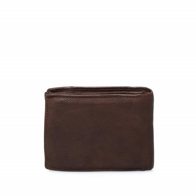 Geldbörse Cool-Casual August B3.0340 Chocolate Brown, Farbe: braun, Marke: Harbour 2nd, EAN: 4046478023413, Abmessungen in cm: 12.5x9.5x2.5, Bild 6 von 6