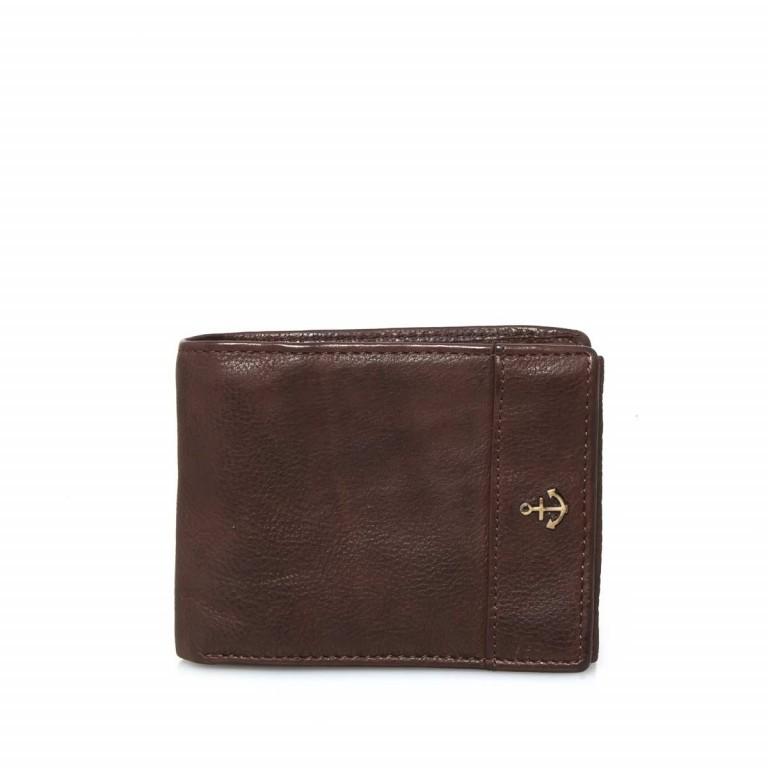 Geldbörse Cool-Casual August B3.0340 Chocolate Brown, Farbe: braun, Marke: Harbour 2nd, EAN: 4046478023413, Abmessungen in cm: 12.5x9.5x2.5, Bild 1 von 6