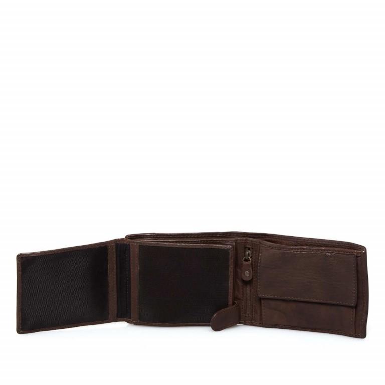 Geldbörse Cool-Casual August B3.0340 Chocolate Brown, Farbe: braun, Marke: Harbour 2nd, EAN: 4046478023413, Abmessungen in cm: 12.5x9.5x2.5, Bild 3 von 6