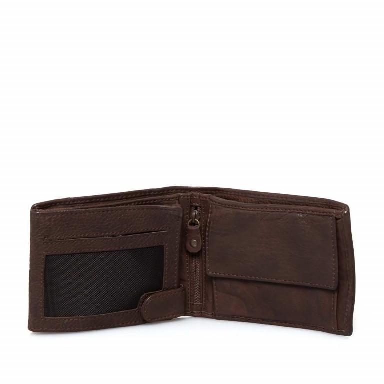 Geldbörse Cool-Casual August B3.0340 Chocolate Brown, Farbe: braun, Marke: Harbour 2nd, EAN: 4046478023413, Abmessungen in cm: 12.5x9.5x2.5, Bild 2 von 6