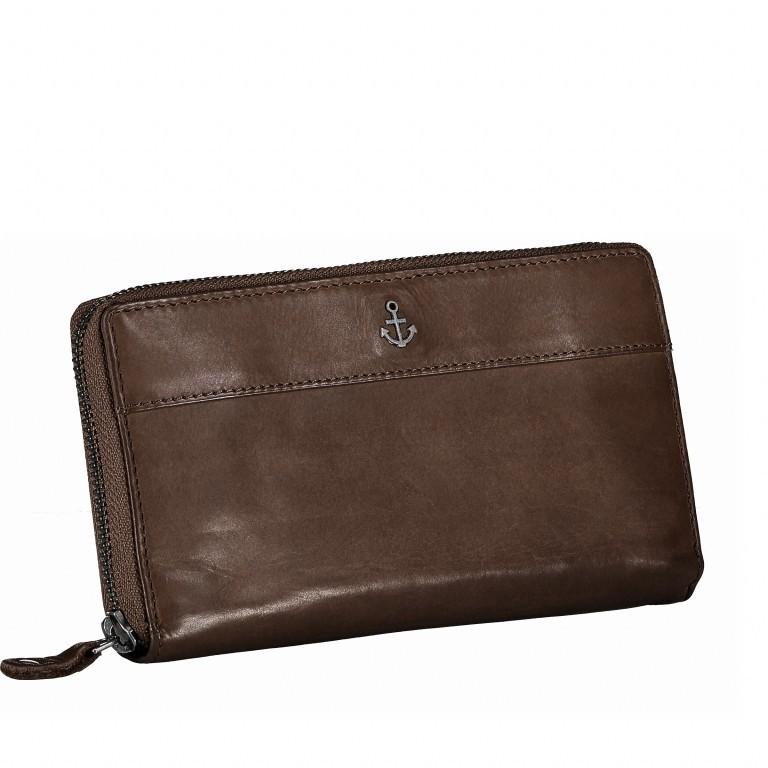 Geldbörse Anchor-Love Atlantica B3.9858 Chocolate Brown, Farbe: braun, Marke: Harbour 2nd, EAN: 4046478019331, Bild 2 von 4