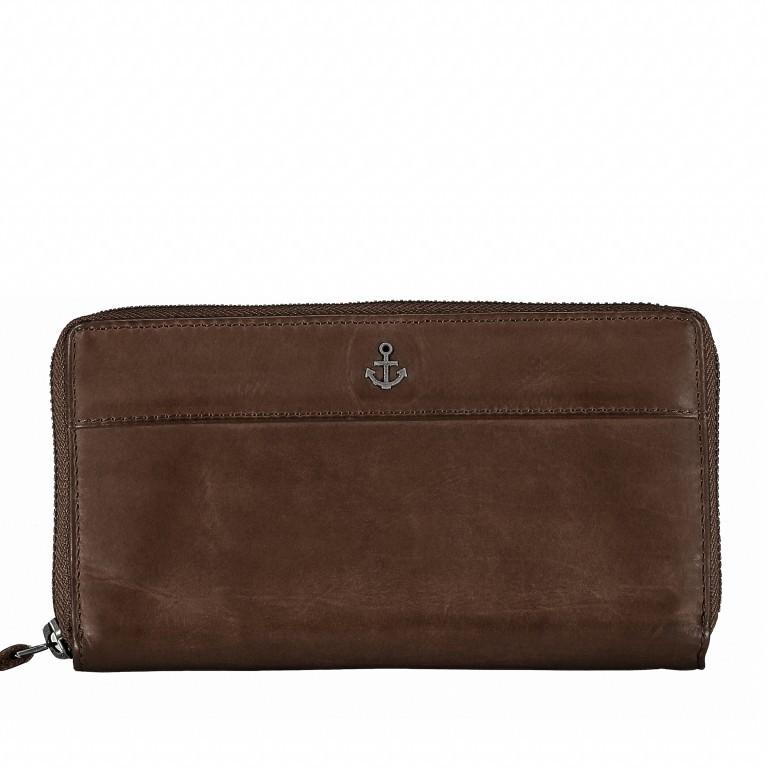 Geldbörse Anchor-Love Atlantica B3.9858 Chocolate Brown, Farbe: braun, Marke: Harbour 2nd, EAN: 4046478019331, Bild 1 von 4