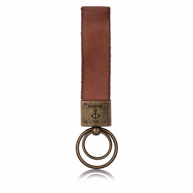 Schlüsselanhänger Cool-Casual Hector B3.0975 Charming Cognac, Farbe: cognac, Marke: Harbour 2nd, Abmessungen in cm: 17.0x3.0, Bild 2 von 2