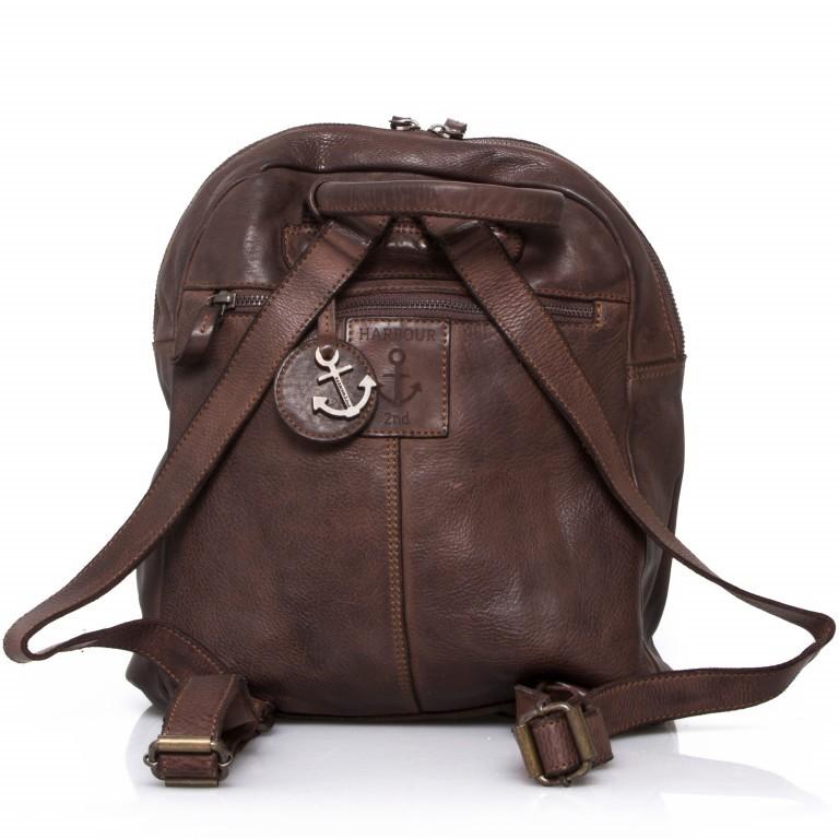 Rucksack Cool-Casual Gudrun B3.4902 Chocolate Brown, Farbe: braun, Marke: Harbour 2nd, EAN: 4046478020368, Abmessungen in cm: 35.0x28.0x8.0, Bild 5 von 5