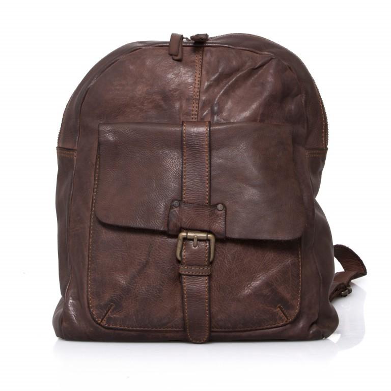 Rucksack Cool-Casual Gudrun B3.4902 Chocolate Brown, Farbe: braun, Marke: Harbour 2nd, EAN: 4046478020368, Abmessungen in cm: 35.0x28.0x8.0, Bild 1 von 5