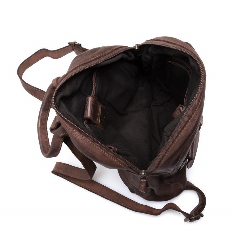 Rucksack Cool-Casual Gudrun B3.4902 Chocolate Brown, Farbe: braun, Marke: Harbour 2nd, EAN: 4046478020368, Abmessungen in cm: 35.0x28.0x8.0, Bild 4 von 5