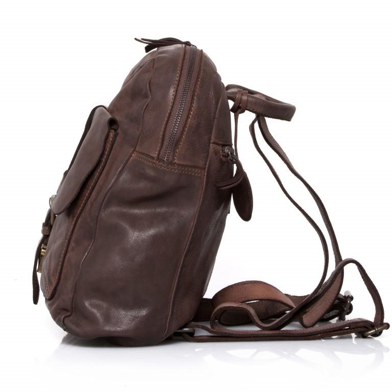 Rucksack Cool-Casual Gudrun B3.4902 Chocolate Brown, Farbe: braun, Marke: Harbour 2nd, EAN: 4046478020368, Abmessungen in cm: 35.0x28.0x8.0, Bild 3 von 5