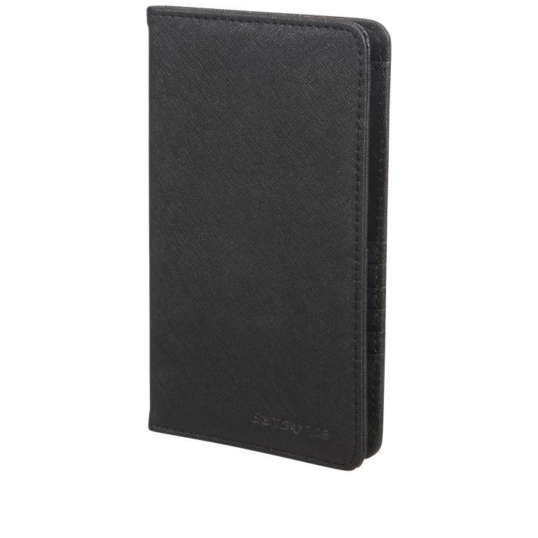 Brieftasche Packing Accessories Travel Wallet mit RFID-Schutz Black, Farbe: schwarz, Marke: Samsonite, EAN: 5414847954740, Abmessungen in cm: 11.5x20.0x1.0, Bild 1 von 2