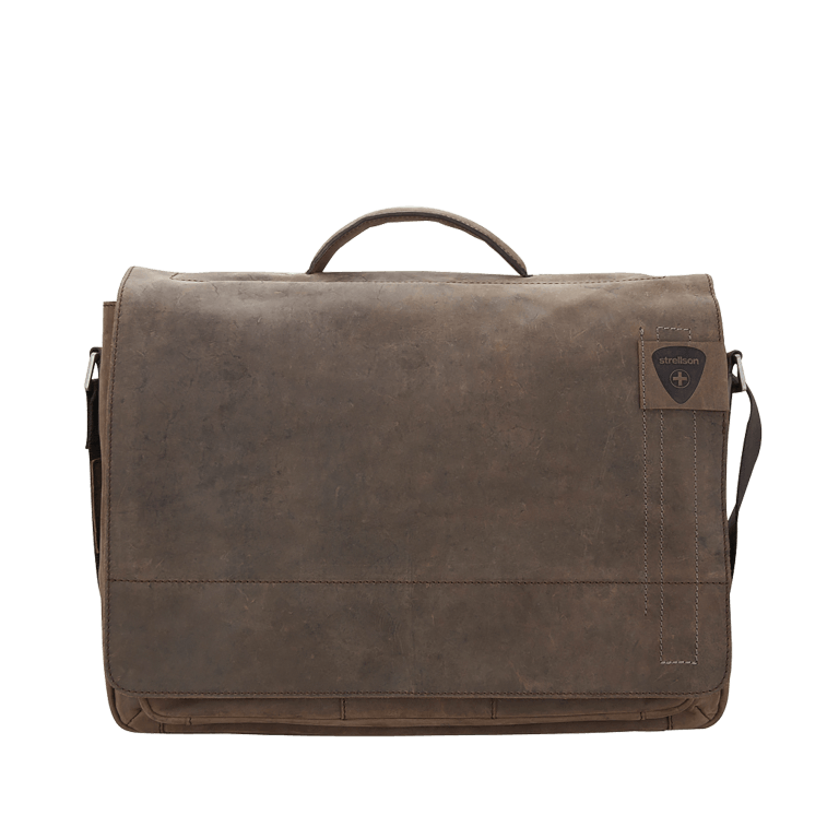 Aktentasche Richmond Briefbag L Brown, Farbe: braun, Marke: Strellson, EAN: 4053533131273, Abmessungen in cm: 40.0x29.0x12.0, Bild 1 von 2