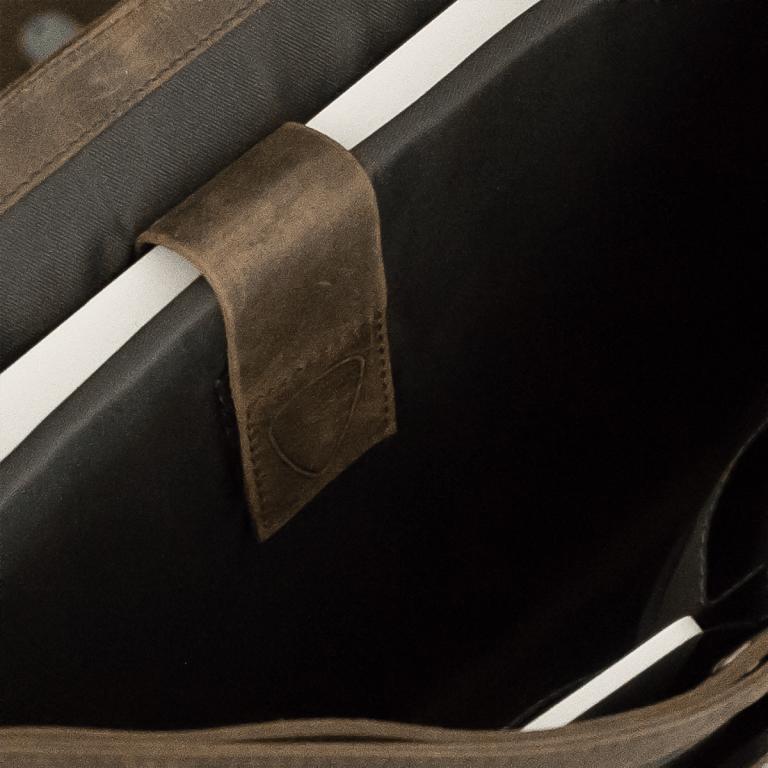 Aktentasche Richmond Briefbag L Brown, Farbe: braun, Marke: Strellson, EAN: 4053533131273, Abmessungen in cm: 40.0x29.0x12.0, Bild 2 von 2