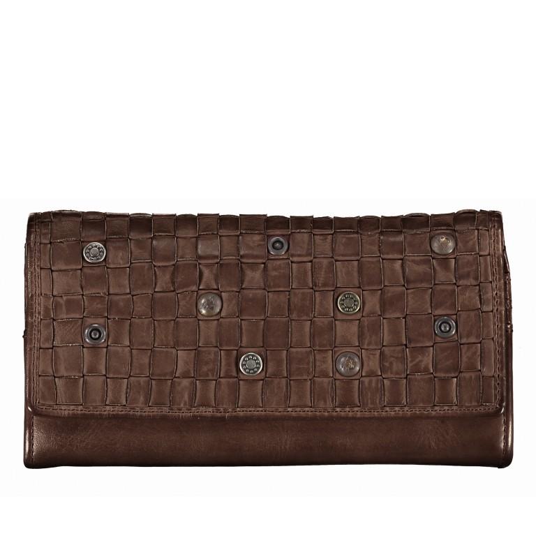 Geldbörse Soft-Weaving Adriane B3.9857 Chocolate Brown, Farbe: braun, Marke: Harbour 2nd, EAN: 4046478019171, Abmessungen in cm: 18.0x10.0x3.5, Bild 1 von 4