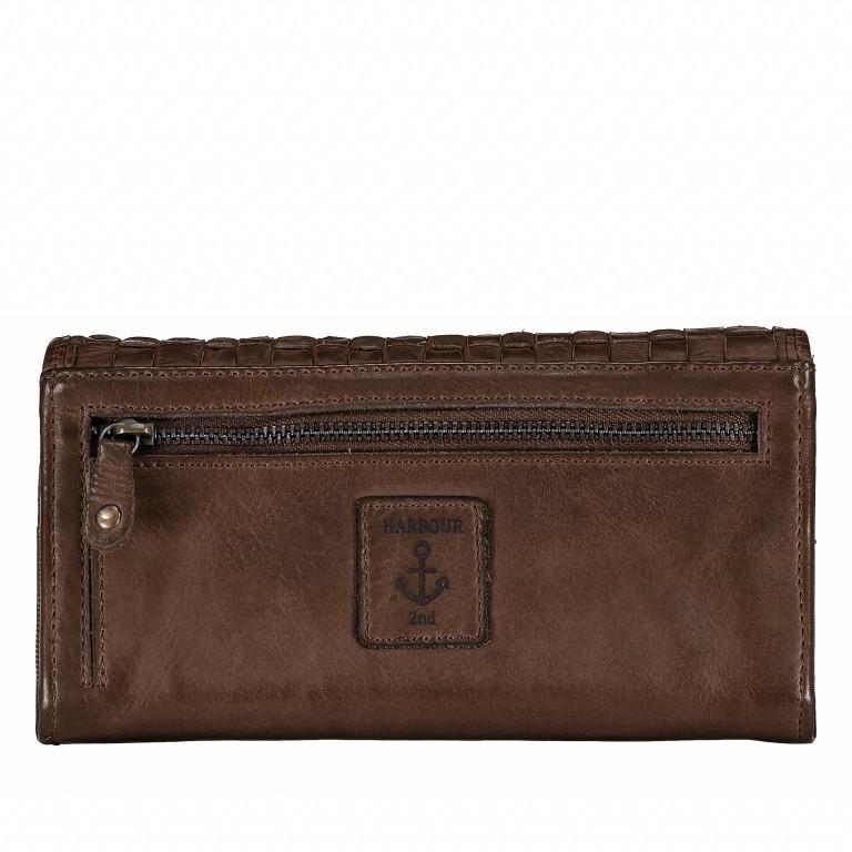 Geldbörse Soft-Weaving Adriane B3.9857 Chocolate Brown, Farbe: braun, Marke: Harbour 2nd, EAN: 4046478019171, Abmessungen in cm: 18.0x10.0x3.5, Bild 3 von 4