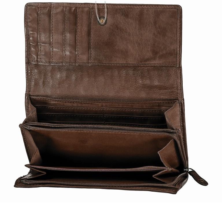 Geldbörse Soft-Weaving Adriane B3.9857 Chocolate Brown, Farbe: braun, Marke: Harbour 2nd, EAN: 4046478019171, Abmessungen in cm: 18.0x10.0x3.5, Bild 4 von 4