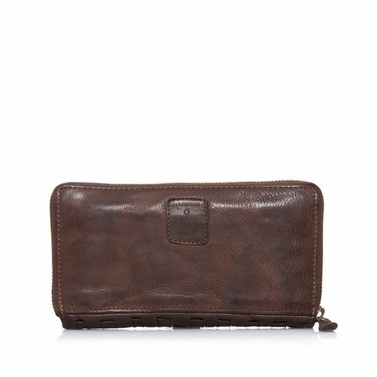 Geldbörse Soft-Weaving Penelope B3.9859 Chocolate Brown, Farbe: braun, Marke: Harbour 2nd, EAN: 4046478019225, Abmessungen in cm: 18.0x10.0x2.5, Bild 3 von 3