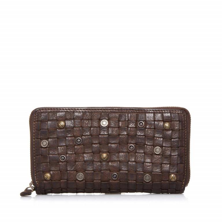 Geldbörse Soft-Weaving Penelope B3.9859 Chocolate Brown, Farbe: braun, Marke: Harbour 2nd, EAN: 4046478019225, Abmessungen in cm: 18.0x10.0x2.5, Bild 1 von 3